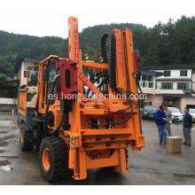 Tyre Moving Pile Driver